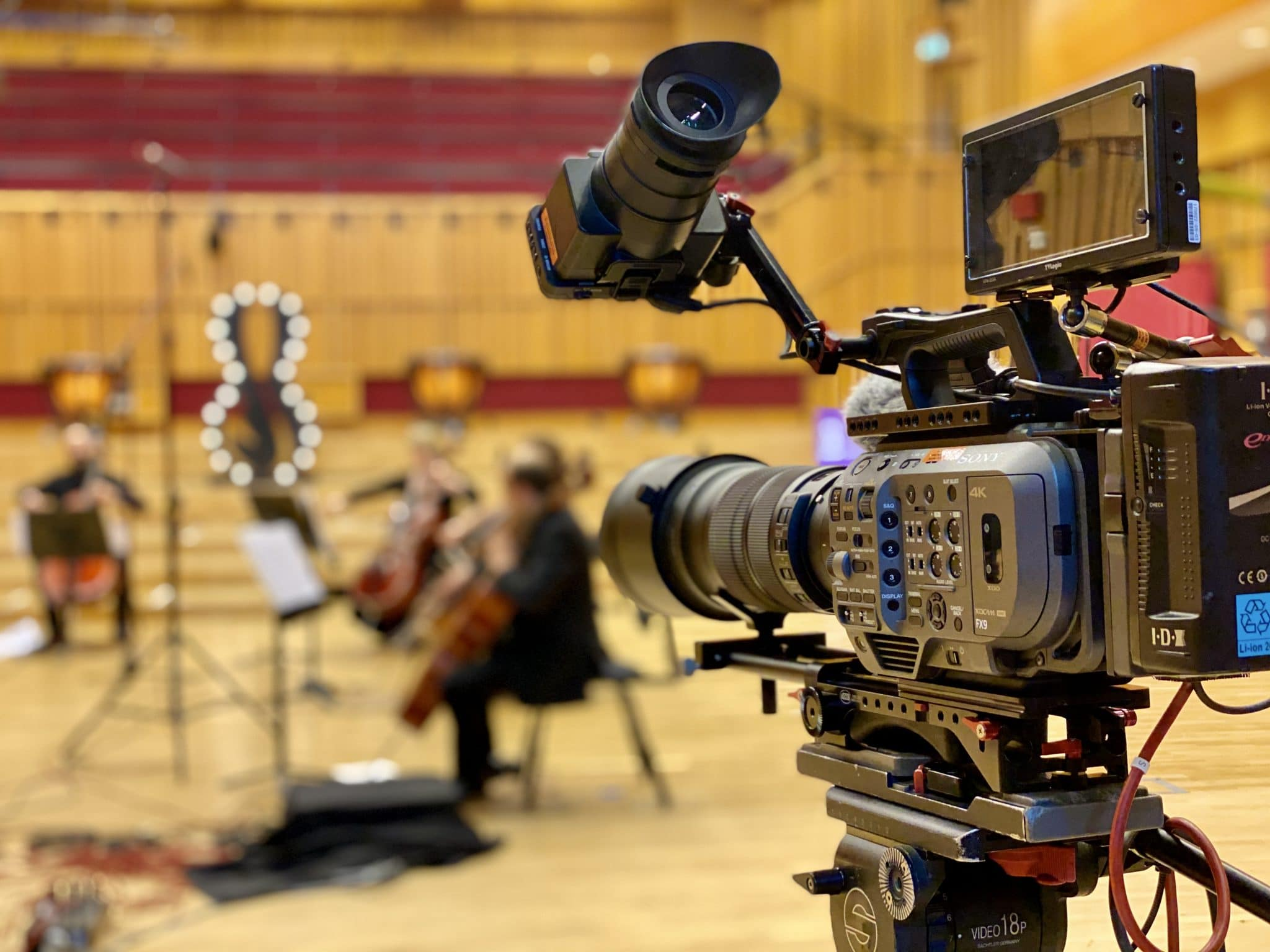 Capturing the orchestra at a social distance