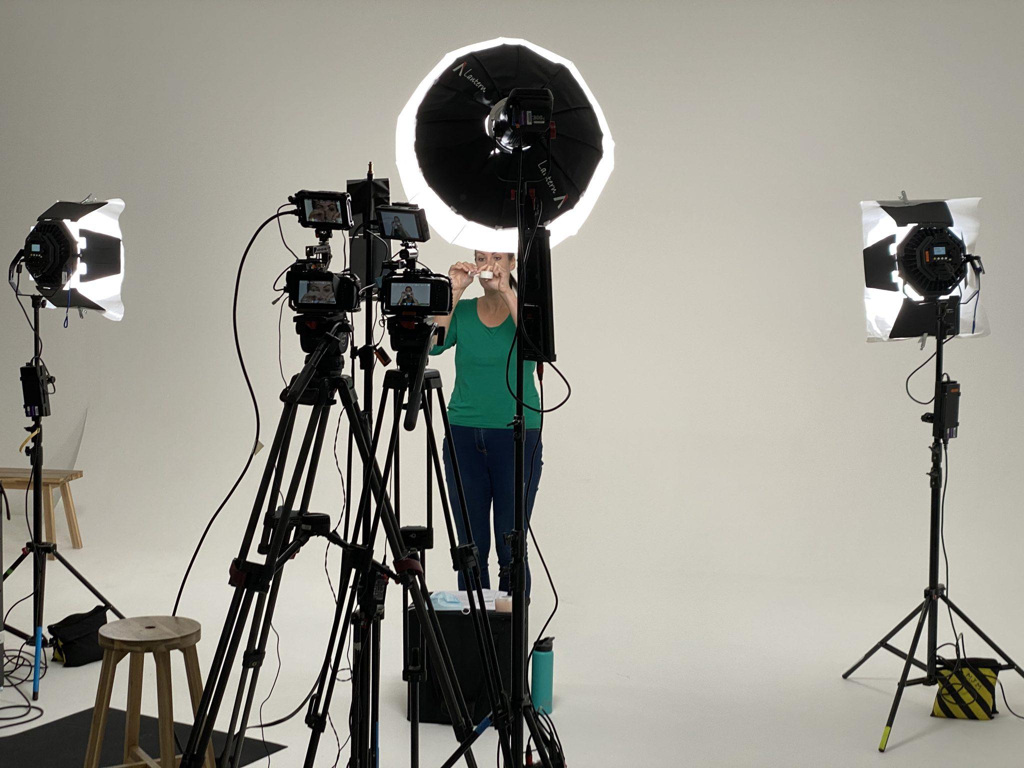 2 x Blackmagic 6K cameras