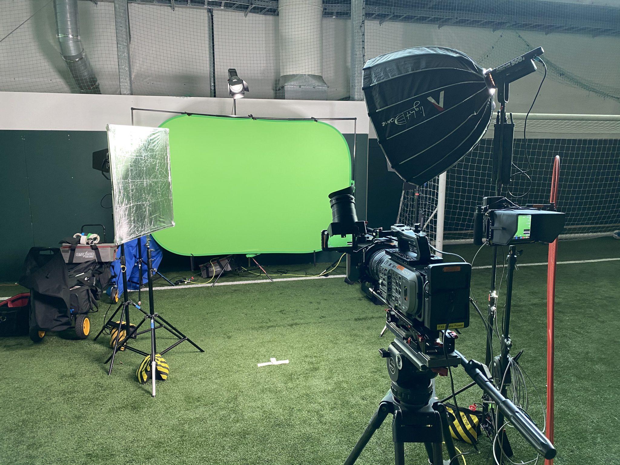 Football! Green screen