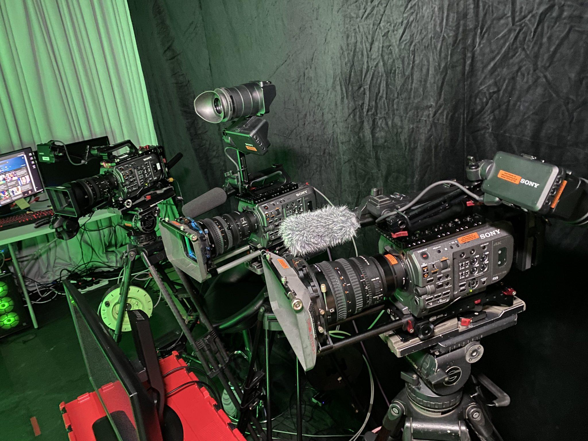 My 3 x Sony FX9 Cameras