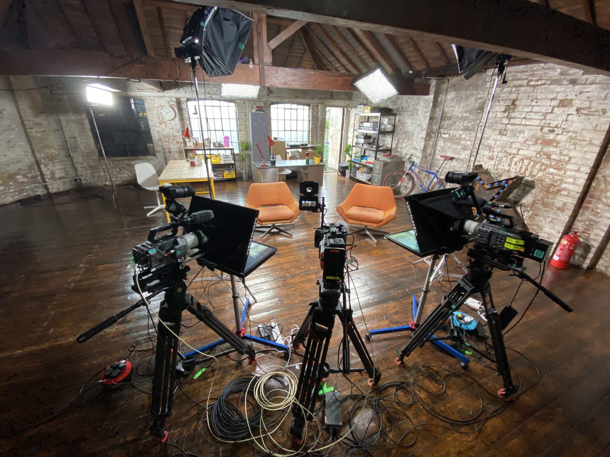 3 x Sony FX9 Camera shoot