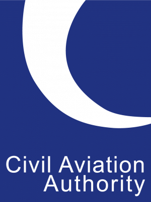 the civil aviation authority logo